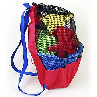 Hanging Basket For Kids Toy Storage - Bath Toys Organization Bag With Suction Cup