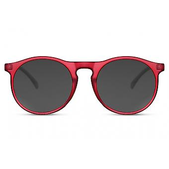 النظارات الشمسية Unisex بانتو كامل الحافة القط. 3 أحمر / أسود
