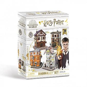 Universiteit spelletjes - diagon steeg 4-1 - Harry Potter 3d puzzel