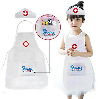 Pretend Play Doctor Clothing For Role Play (white)