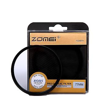 Star Filter 4 6 8 Piont Filtro Camera Filters 40.5-49-52-55-58-62-67-72-77-82mm For Canon Nikon Sony Dslr Camera