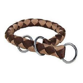 Trixie Strangler Cape (brun/Silver) (hundar, kragar, Leads och selar, halsband)
