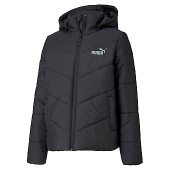 Puma Essentials Girls Padded Hooded Jacket