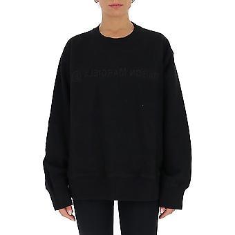 Mm6 Maison Margiela S52gu0125s25337900 Women's Black Cotton Sweatshirt