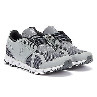 Sur Running The Cloud Mens Grey / White Trainers