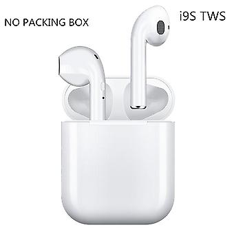 Original I9s Tws Wireless Headphones Bluetooth Earphone Air Sport Handsfree Headset With Charging Box For Iphone Android (white)