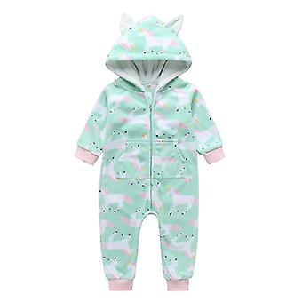 Baby Rompers Animal Shapel Halloween vaatteet setti