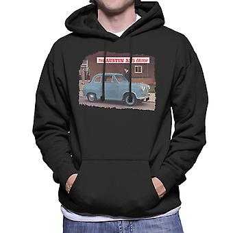 Austin A35 Saloon British Motor Heritage Men's Hooded Sweatshirt