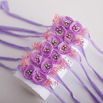3d Flower Design, Elastic Headbands For Baby