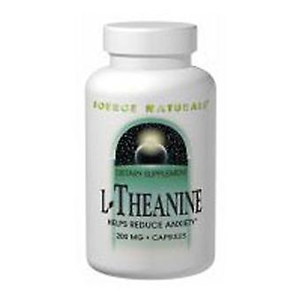 Source Naturals L-Theanine, 200 mg, 60 Tabs