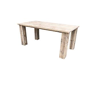 Wood4you - Gartentisch Texas Gerüstholz 220Lx78Hx72D cm