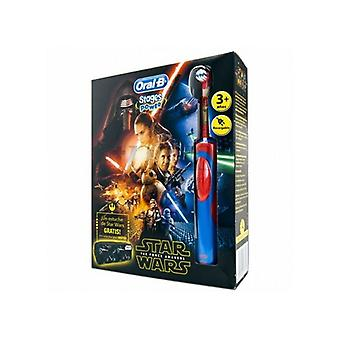 Star Wars Oral-B Electric ToothBrush Stages Power Vitality Blue