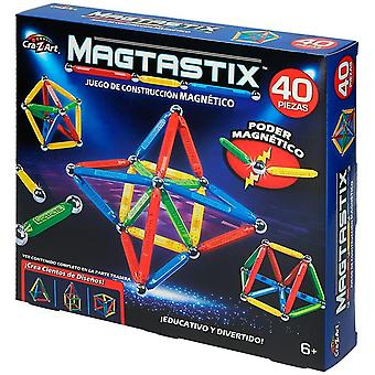 Magtastix 40 pc balls and rods set