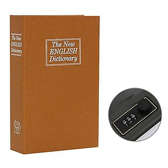 Secret Dictionary Safe Box, Book Money Security Lock, Cash Coin Storage Key