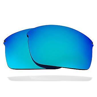 Replacement Lenses for Oakley Wiretap Sunglasses Anti-Scratch Blue Mirror