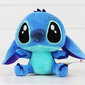 Lilo Stitch Plush Toys Dolls With Sucker Keychain, Soft Stuffed Baby