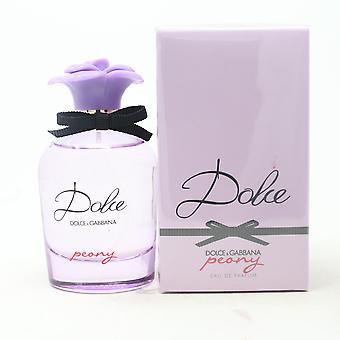Dolce Peony por Dolce & Gabbana Eau De Parfum 2.5oz/75ml Spray Novo com Caixa
