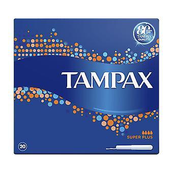 Tampax Super Plus 20's x8