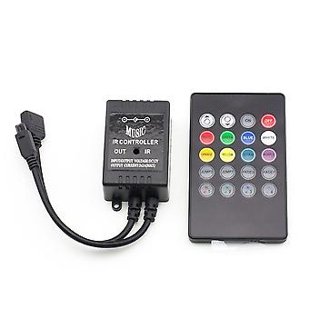 Music Ircontroller Sound Sensor Remote For Rgb, Led Strip