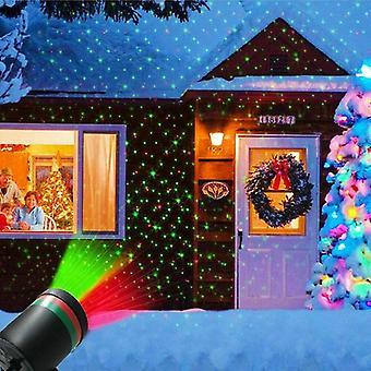 ضوء خرافية سكاي ستار ليزر العرض مقاوم للماء المناظر الطبيعية بارك بارك عيد الميلاد