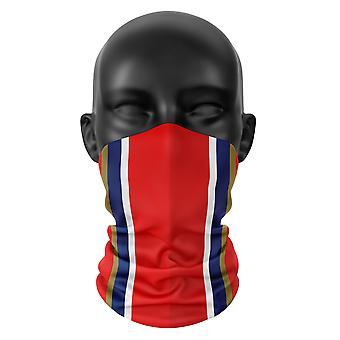 Arsenal Fußball Farben Snood Gesicht Maske Kopf Tuch Neckerchief Buff Kopfbedeckung
