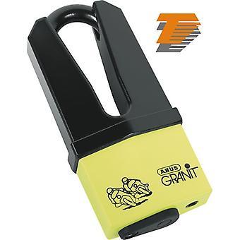 Abus Granit Quick 37 60 Yellow Motorcycle Brake Disc Lock 70 11mm