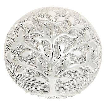 Tree of Life Decor Ball Champagne Ornament