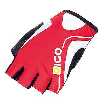 Eigo Track Cycling Mitts Red / White / Black
