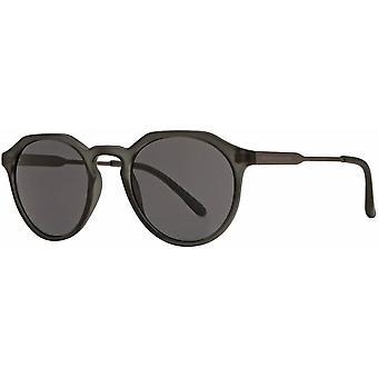 Franse verbinding geometrische zonnebril - Mat Grijs