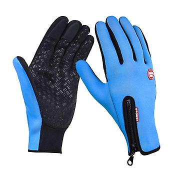 Mannen en vrouwen windstopers handschoenen, anti-slip winddicht thermisch warm touchscreen