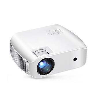 Aun F10 LCD-projektori 2800 Lumens 1280 *720P Resoluutio 15000:1 Kontrastisuhde Tuki 23 Kielet H