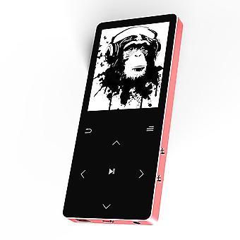 مشغل Mp3 مع مكبر صوت بلوتوث Hifi جهاز إستماع محمول مع تسجيل راديو Fm