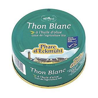White tuna in organic olive oil 80 g