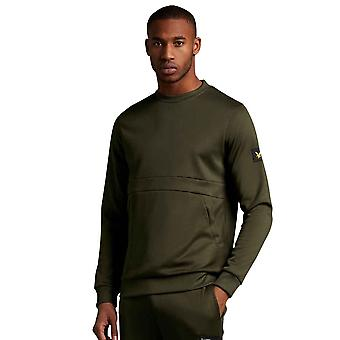 Lyle & Scott Casuals Zip Pocket Sweatshirt - Trek Green