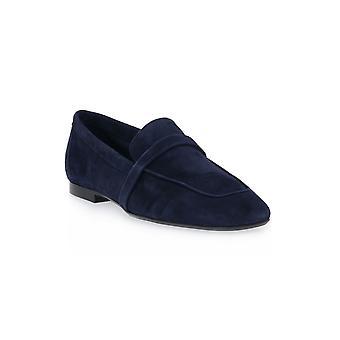 Frau blue suede shoes