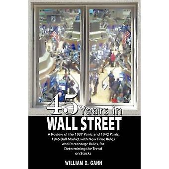 45 Years in Wall Street by William D. Gann - 9789563100464 Book