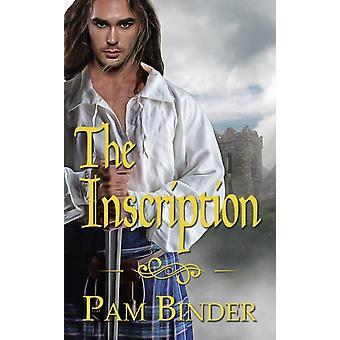 De inscriptie van Pam Binder