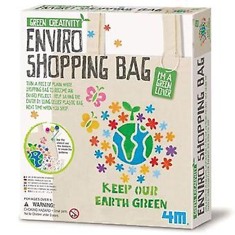 Great Gizmos 4M vert créativité Enviro sac à provisions