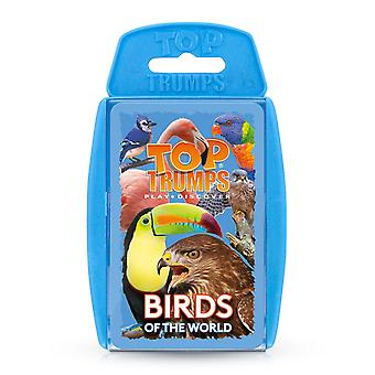 Birds RB Top Trumps Card Game