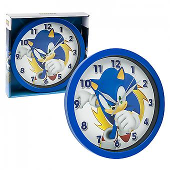 "Sonic the Hedgehog Character Print 9 3/4"" Wall Clock"