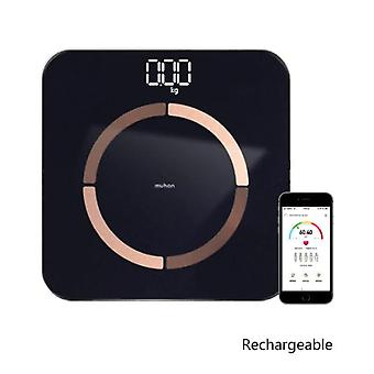 USB Charging Weight Scale Smart(Black)