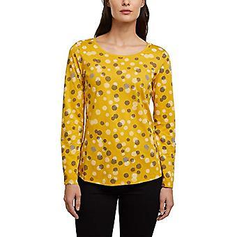ESPRIT 990E1K315 T-Shirt, 720/Brass Yellow, XS Women