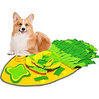 Schnüffelteppich Hunde, Hundespielzeug Intelligenz Trainingsmatte, Soft Waschbar Faltbar Riechen