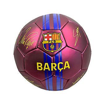 FC Barcelona Matt Barca Signatur Boll Storlek 5