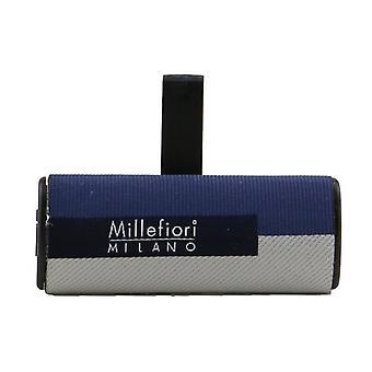 Millefiori Icon Textile Geometric Car Air Freshener - Cold Water 1pc