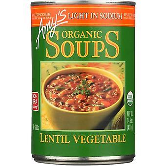 Amys Soup Veg Lentil Gf Org, Case of 12 X 14.5 Oz