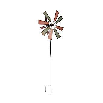 61 tuuman metalli puutarha vaarna kineettinen tuuli spinner piha taide nurmikko sisustus veistos