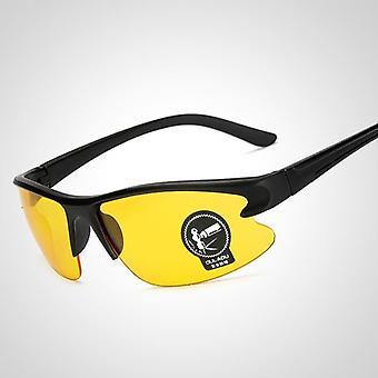 Gafas de visión nocturna con lentes amarillos para exteriores