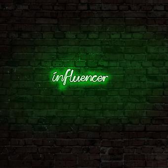 Influencer - Grön grön vägglampa