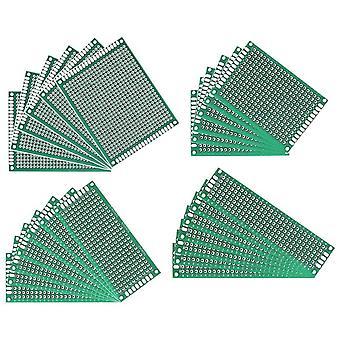 20pcs / lot 5x7 4x6 3x7 2x8 cm enkelt side prototype pcb trykt kretskort